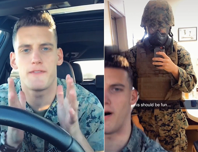 Marine Goes On Hysterical Rant About People Who Still Won't Wear Masks