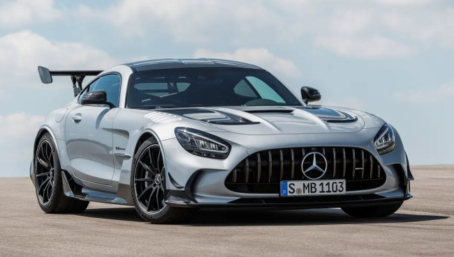 Mercedes-AMG Just Unveiled The 2021 720 Horsepower GT Black Series