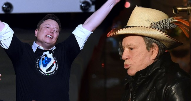Mickey Rourke Wants To Fight Elon Musk In A Bare-Knuckle Boxing Match