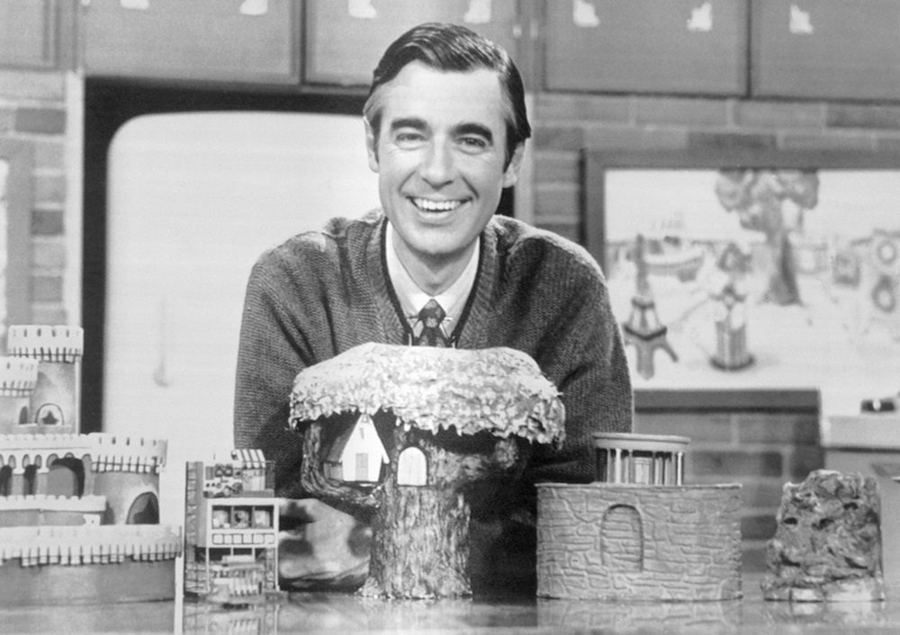One Of My Fondest Childhood Memories Is My Grandfather And I Cornering A Naked Mr Rogers To Ask Him For An Autograph Brobible