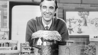 One Of My Fondest Childhood Memories Is My Grandfather And I Cornering A Naked Mr. Rogers To Ask Him For An Autograph