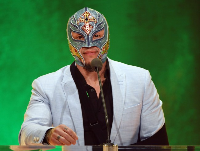 Rey Mysterio Loses eye Extreme Rules