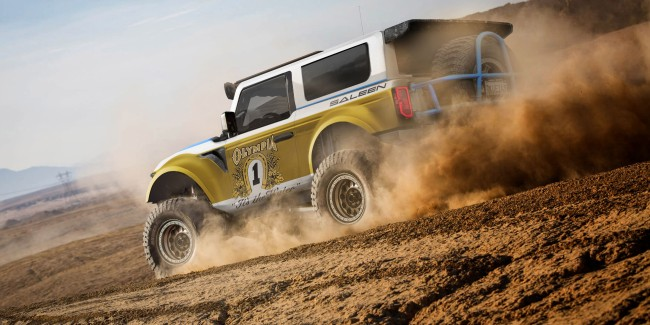 Saleen Unleashes Its New Modified Big Oly Inspired 2021 Ford Bronco