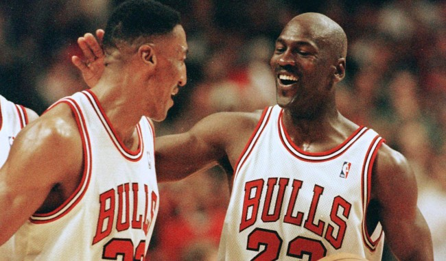 Scottie Pippen Denies Theres Any Rift Between Him And Michael Jordan