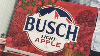 Busch Light Apple Is The Latest Beer To Fall From The Busch Family Tree