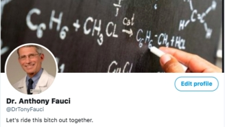 I Created A Fake Dr. Fauci Twitter Account And Am Getting Absolutely Owned By Anti-Mask Karens