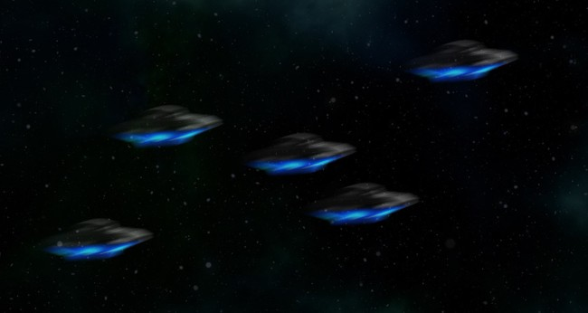 'Squadron Of UFOs' Caught On Video Shooting Across The Sky Over Northeast Pennsylvania