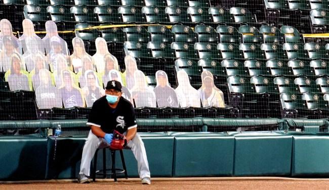 White Sox Fan Buys 100 Cardboard Cutouts Of Himself To Fill Seats
