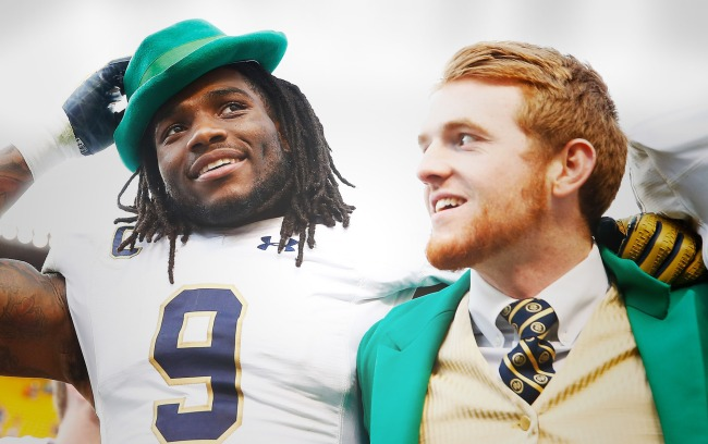 notre dame football allowing fans
