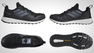 Crush The Trails With The Adidas Terrex Bounce Hiker GTX All-Terrain Hiking Shoe