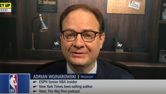 NBA Fans Were Annoyed With ESPN's Adrian Wojnarowski For Leaking The Top 3 Picks Of The NBA Draft 6 Hours Before Draft Broadcast
