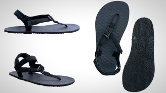 These Minimalist Adventure Sandals Offer The Thinnest Sole For Running, Hiking, And Chilling