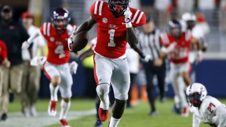 Former Ole Miss WR A.J. Brown Claims A Big Ol' Bag Full Of Cash Was On His Doorstep The Night Before Signing Day