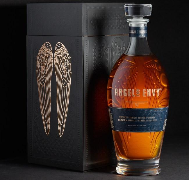 Angel's Envy Japanese Mizunara Oak Casks Kentucky Straight Bourbon Whiskey