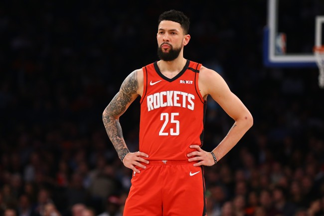 Rockets guard Austin Rivers explains why he thinks this year's NBA champ deserves a unique asterisk next to it