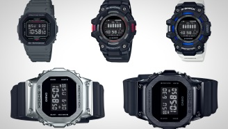 Upgrade Your Wrist With One Of These Rugged Casio G-Shock Watches For Everyday Wear