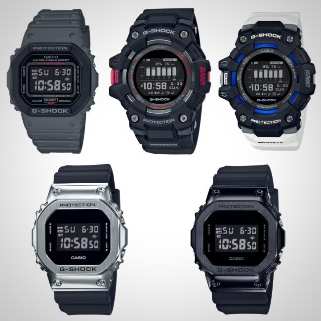 Best Casio G-Shock Watches For Men