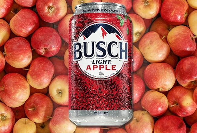 busch light apple review