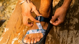 These Limited-Edition Chaco 'River Camo' Z1 Adventure Sandals Are Perfect For Summer