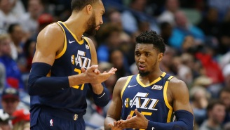 It Sure Took A Long Time For Donovan Mitchell And Rudy Gobert To Even Talk To One Another After NBA Shutdown