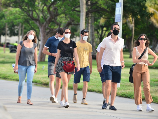 experts wearing masks 2020