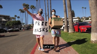 Two California Surfer Bros Head To Orange County To Solve The Mask Shortage