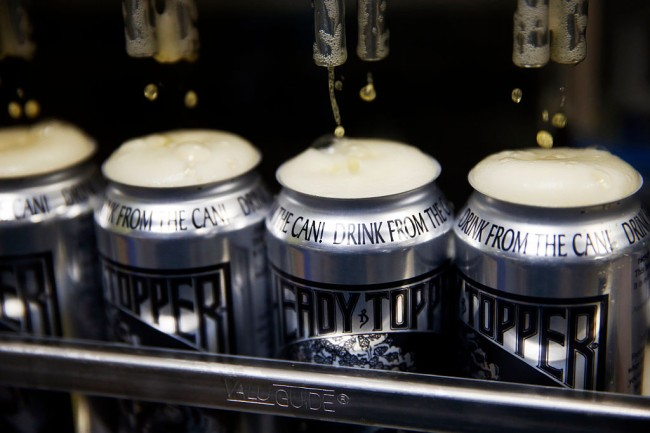 craft breweries 16 ounce can shortage