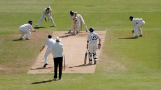 Cricket Players Are Getting In Trouble For Spitting On The Ball