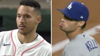 Dodgers Pitcher Joe Kelly Told Carlos Correa 'Nice Swing, Bitch', 'You Gotta Cheat To Hit' After Striking Him Out Which Led To Benches Clearing