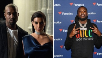 Kanye West Says He Wants To Divorce Kim Kardashian Because He Believes She Wanted To Have An Affair With Rapper Meek Mill