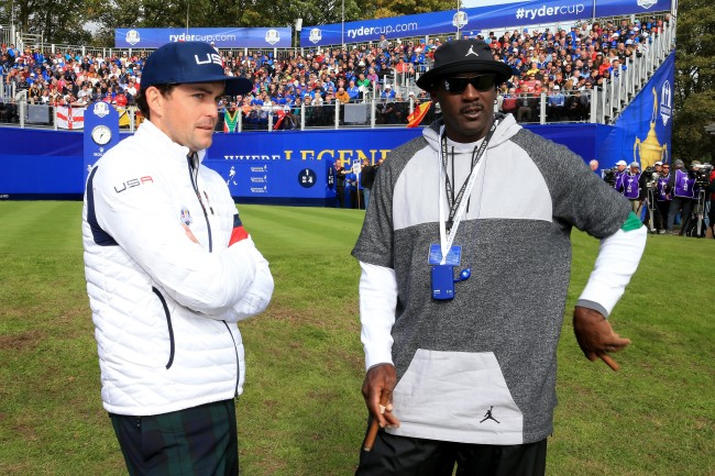 Keegan Bradley describes how uncomfortable Michael Jordan makes things while playing golf once he's riled up