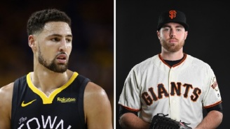 Warriors' Klay Thompson Blasts SF Giants Sam Coonrod For Saying He Refuses To Kneel During Anthem Because He's A Christian
