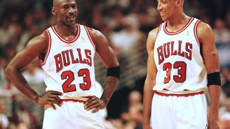 Michael Jordan's Friendship With Scottie Pippen Is Allegedly Pretty Dicey After MJ's Comments In 'The Last Dance'
