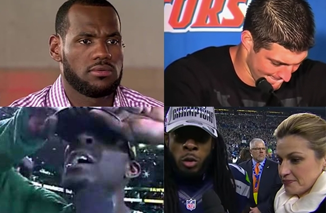 most inauthentic sports moments