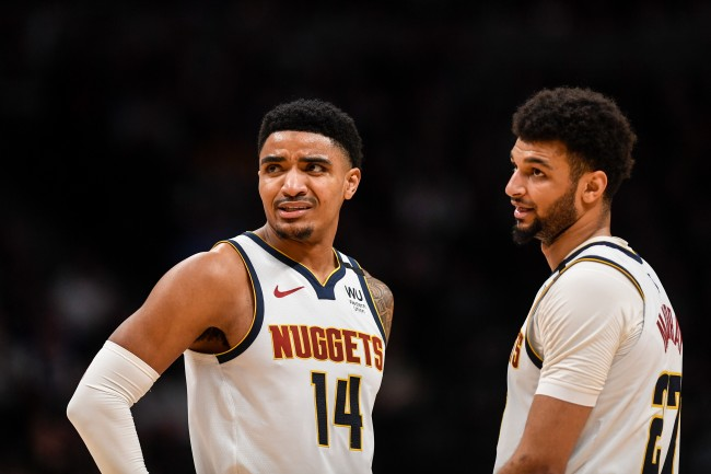This 'Let's go Nuggets' chant at an exhibition NBA game failed miserably