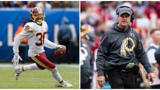 D.J. Swearinger Publicizes The Jay Gruden Text Message Exchange That Made Him 'Lose Respect' For His Coach