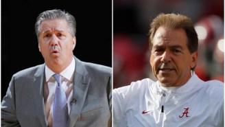 John Calipari, Nick Saban Among Top College Coaches Not To Take A Pay Cut Amid Pandemic