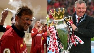 Jurgen Klopp Woke Up Legendary Man U Manager Alex Ferguson At 3:30 A.M. To Brag About Winning The Premier League