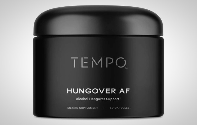 Tempo Natural Hangover Cure