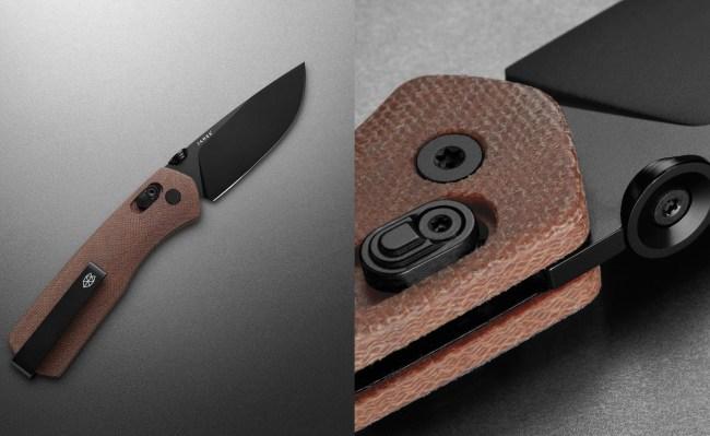 The Carter Knife Micarta Black