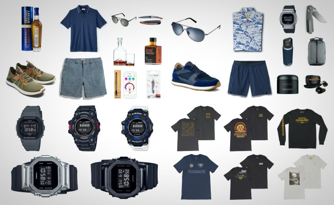 best mid-summer gear for guys Things We Want