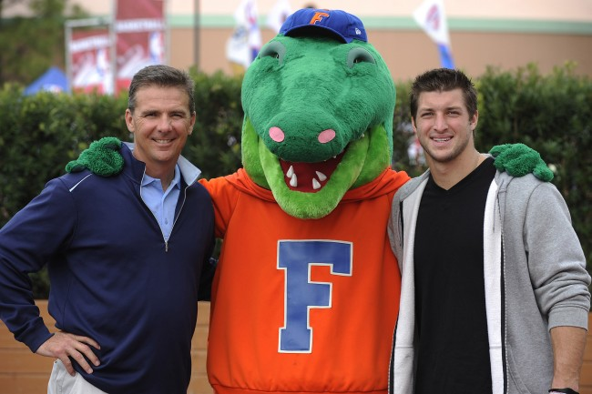 Tim Tebow details how a dropped call with Urban Meyer just seconds before making his commitment to Florida nearly led him to sign with Alabama instead