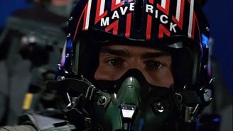 Maverick's Helmet From 'Top Gun' Is Being Auctioned Off If You've Ever Wanted To Own Something That's Touched Tom Cruise's Head
