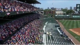The Internet Reacts To FOX Adding 'Virtual Fans' During Brewers-Cubs Game
