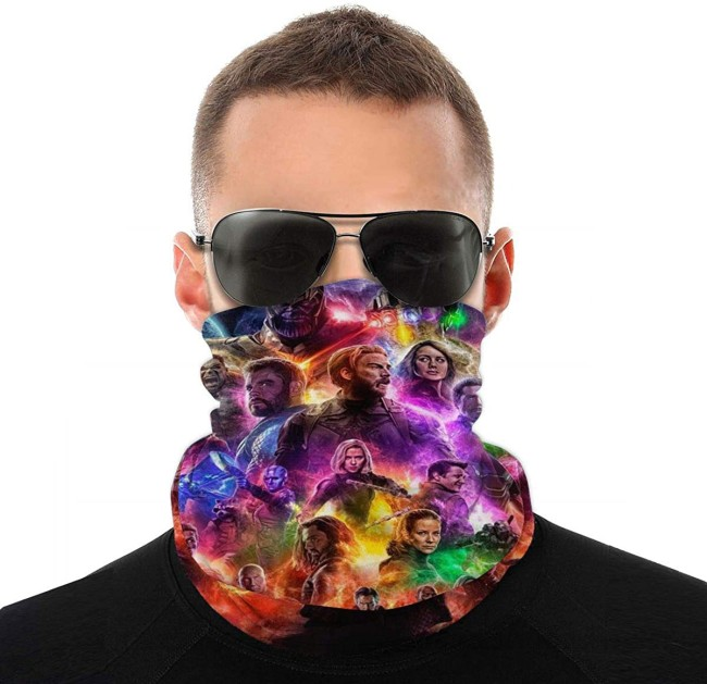 Marvel Face Masks And Neck Gaiters