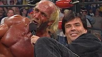 Eric Bischoff Recalls Spotting A Knife In Hulk Hogan's Fanny Pack During A Tense Altercation Backstage Between NWO Members