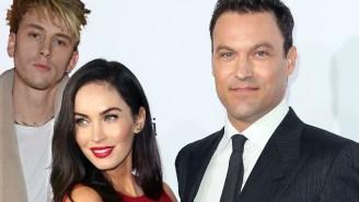 Brian Austin Green Trolls His Ex Megan Fox For Posing In A Towel With Machine Gun Kelly