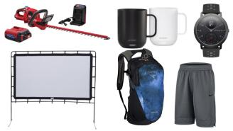 Daily Deals: Hedge Trimmers, Mugs, Osprey Daypacks, Movie Screens, Columbia Sale And More!