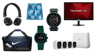 Daily Deals: Smartwatches, Monitors, Camera Security Systems, Headphones, Levi's Sale And More!