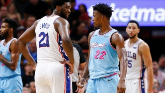 Sixers Fans React To Joel Embiid Posting Cryptic Tweets During Jimmy Butler's Impressive Game 1 Performance Vs Bucks